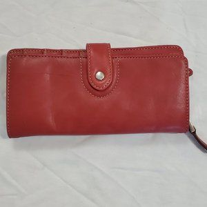 Tignanello Red leather Wallet
